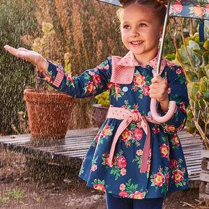 NWT Matilda Jane Girls Down Came The Raincoat 6